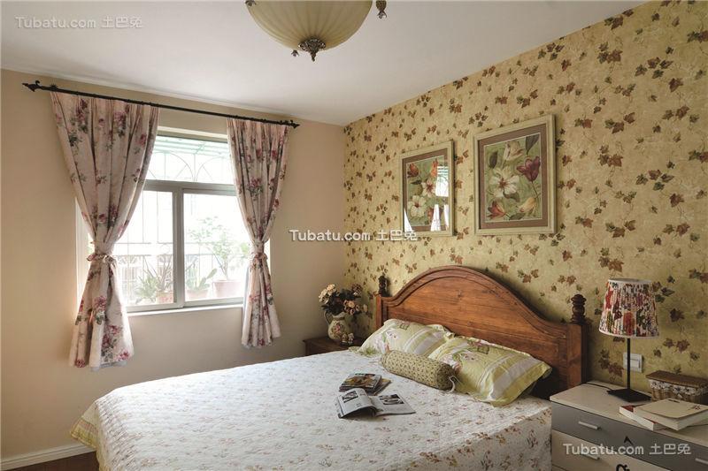 复古田园风格卧室装饰