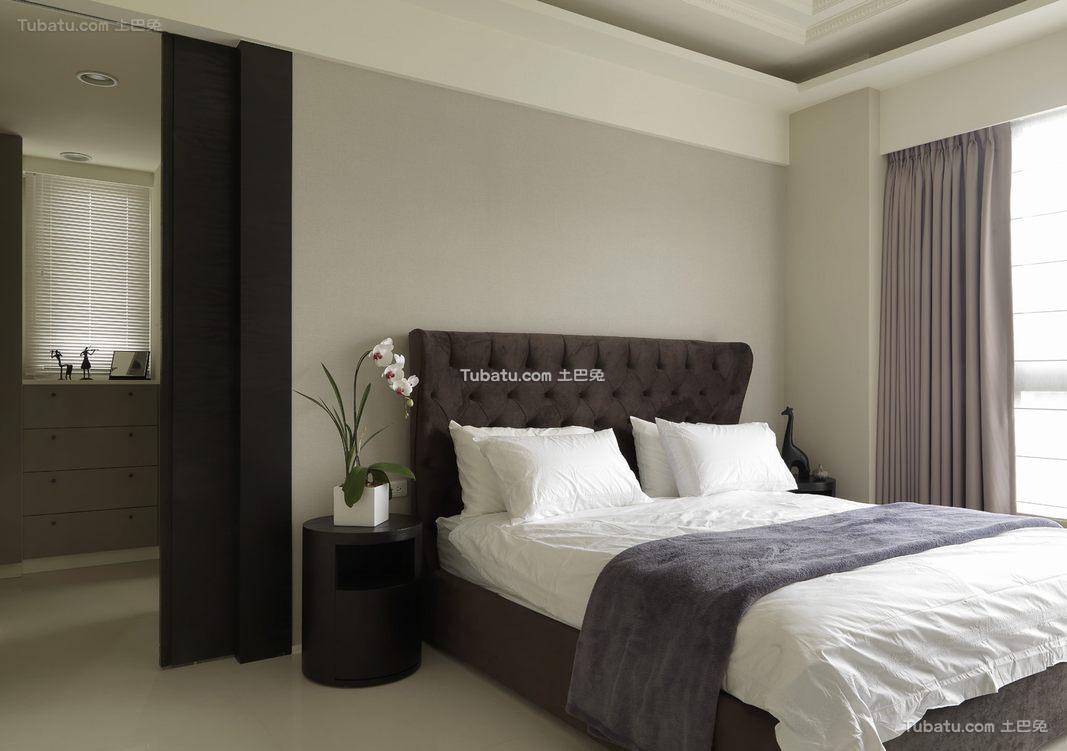 简约古典卧室设计效果图片