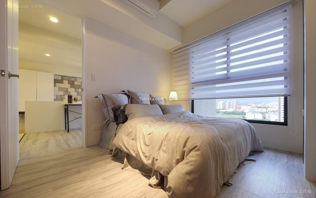 现代简洁卧室装修效果图欣赏