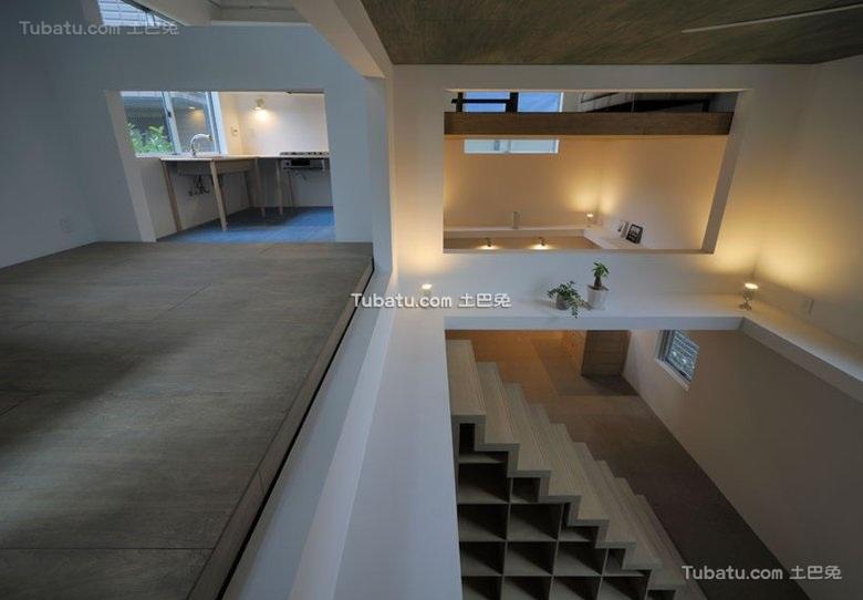 东京非凡创意住宅隔层设计