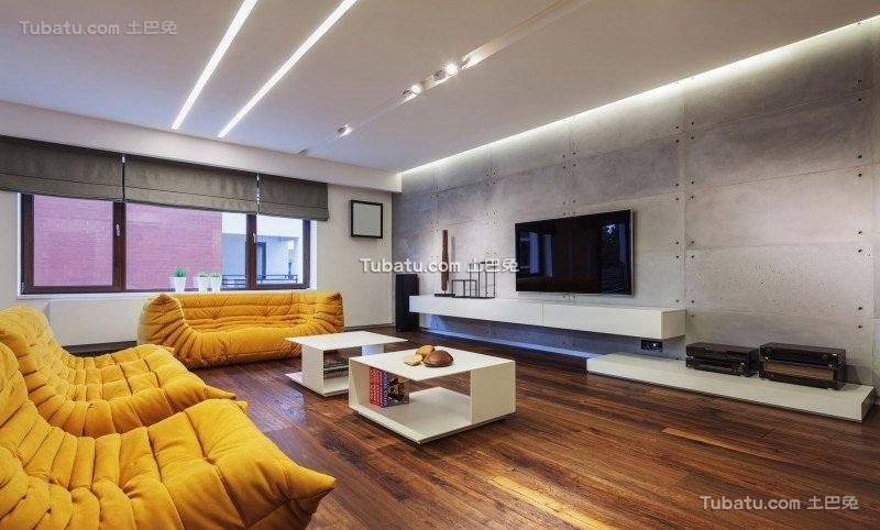 现代感前卫时尚一居室设计