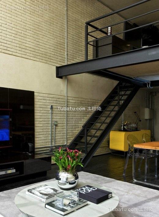 80后喜爱的自由空间楼梯设计