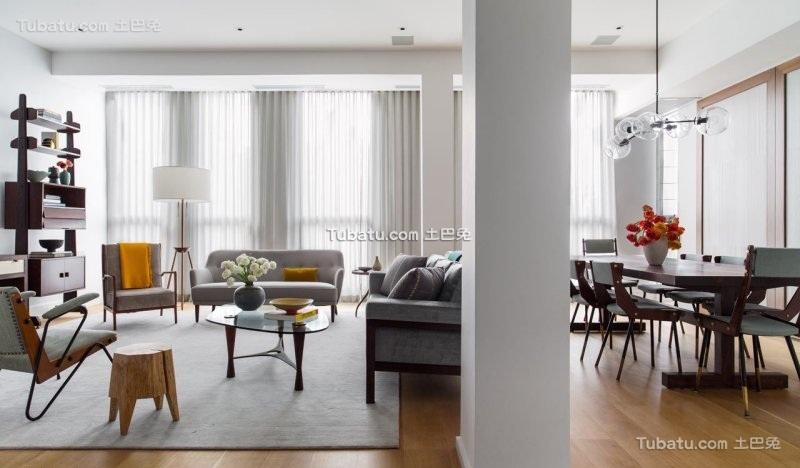 现代风格纽约时尚公寓设计