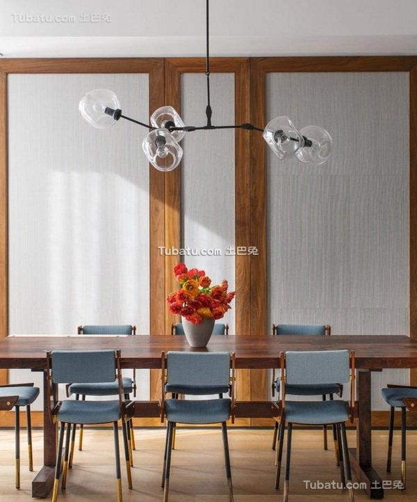 纽约时尚公寓餐厅设计