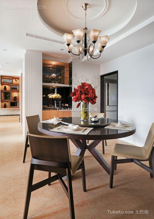 现代家居餐厅室内装饰效果图片