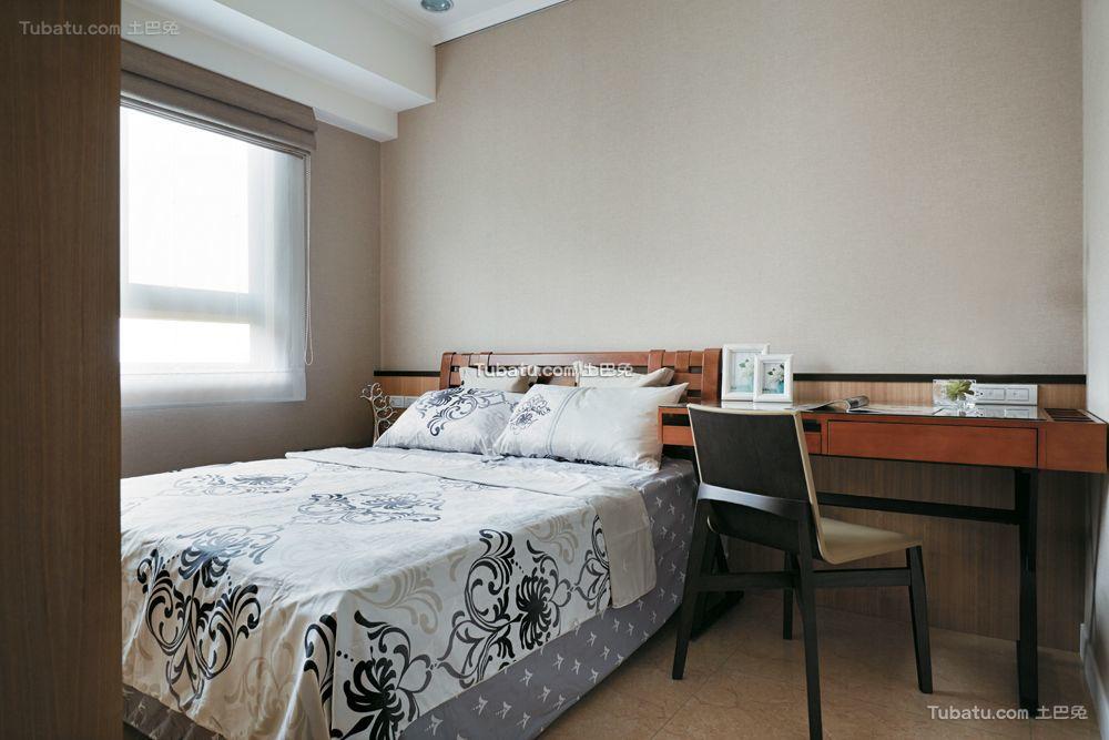 现代舒适卧室室内装饰效果图片