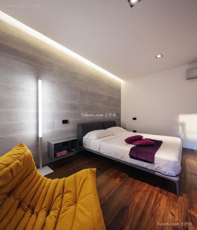 现代感前卫时尚的卧室设计