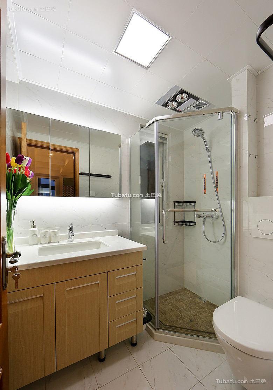美式设计卫生间欣赏大全