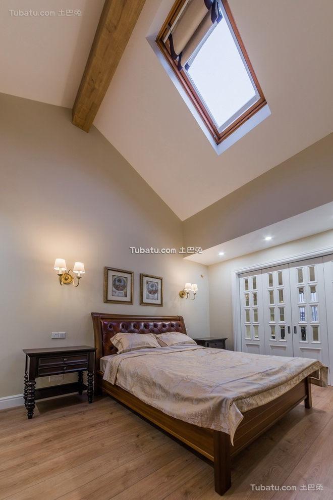 美式天窗卧室设计
