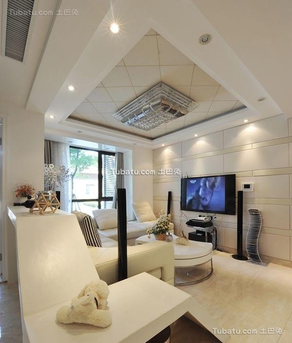 现代时尚潮流二居室设计