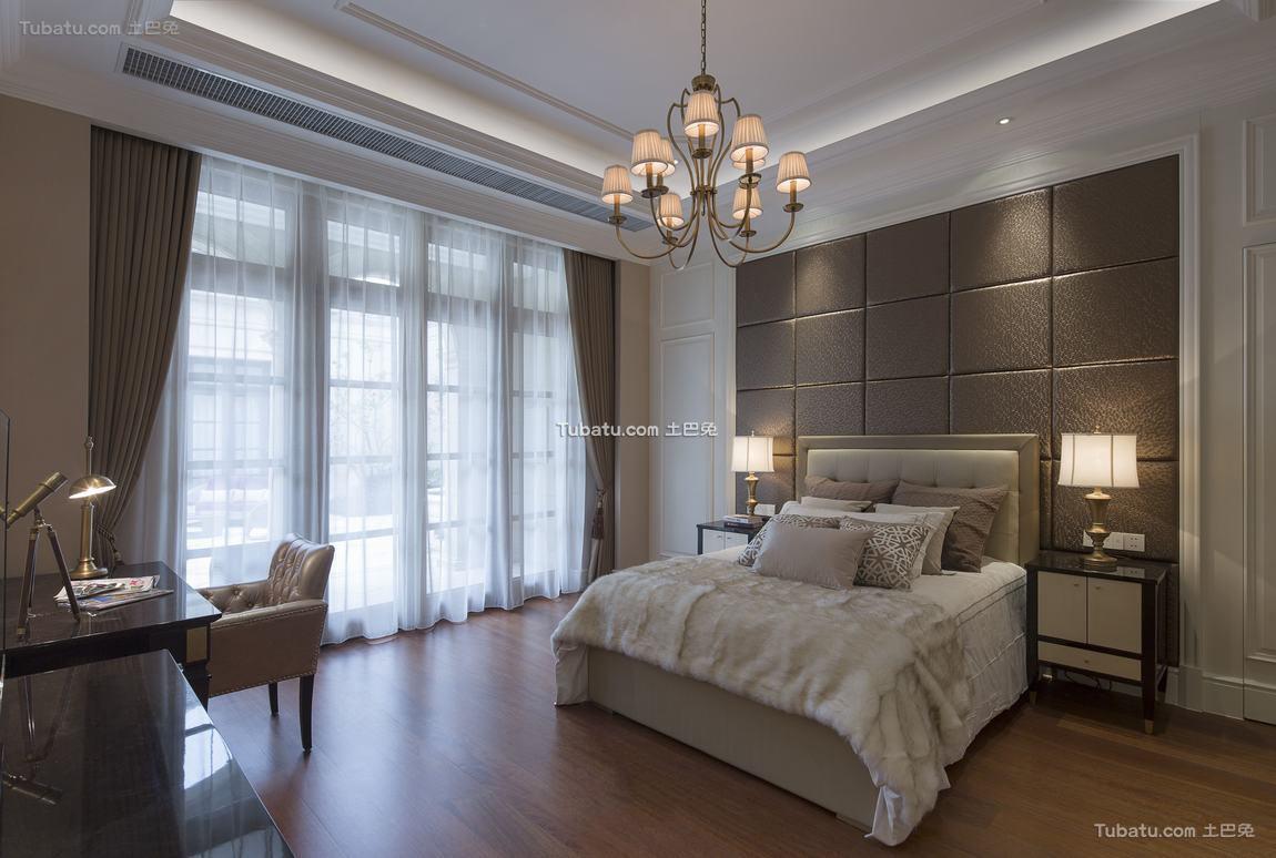 欧式设计卧室窗帘欣赏大全