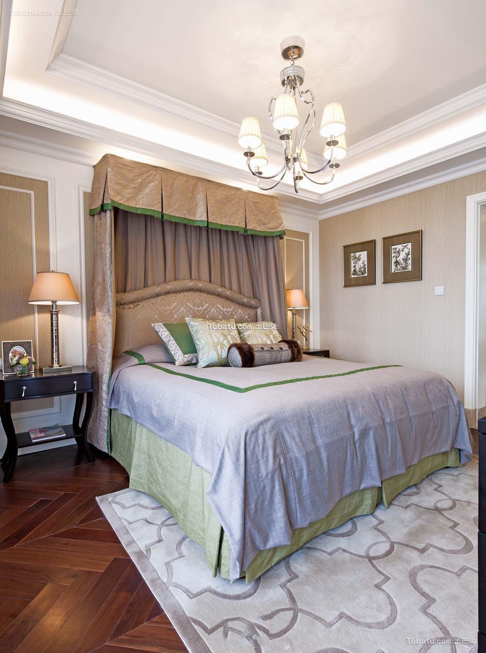 家庭装修设计卧室吊顶