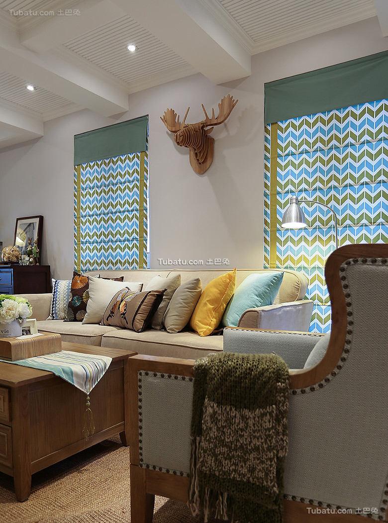 美式家居客厅沙发大全