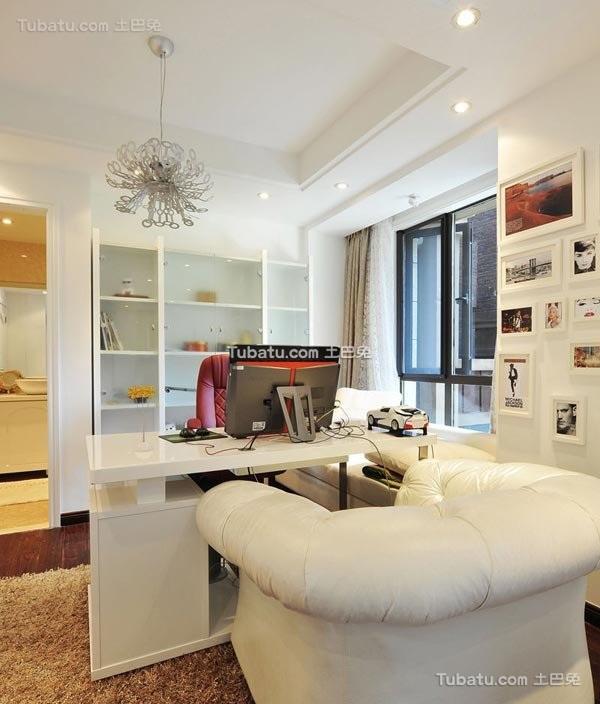 现代时尚潮流家庭办公室