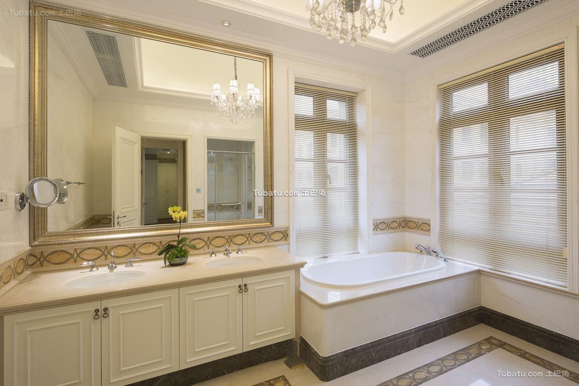 欧式设计卫生间大全欣赏