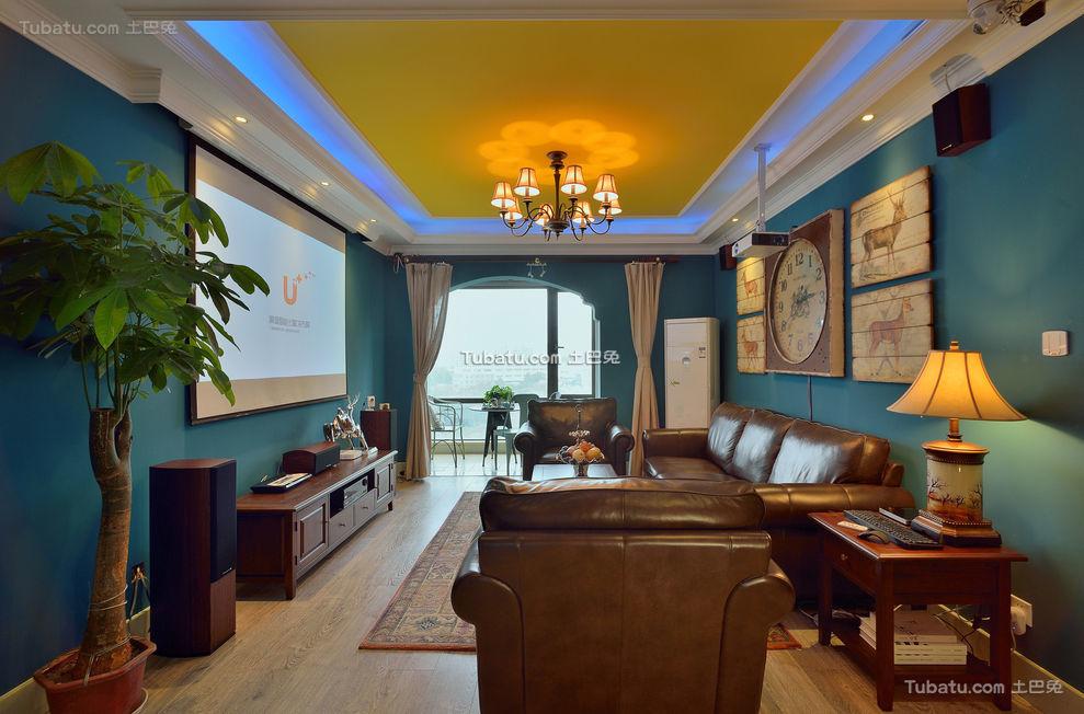 浓郁异域风混搭客厅设计