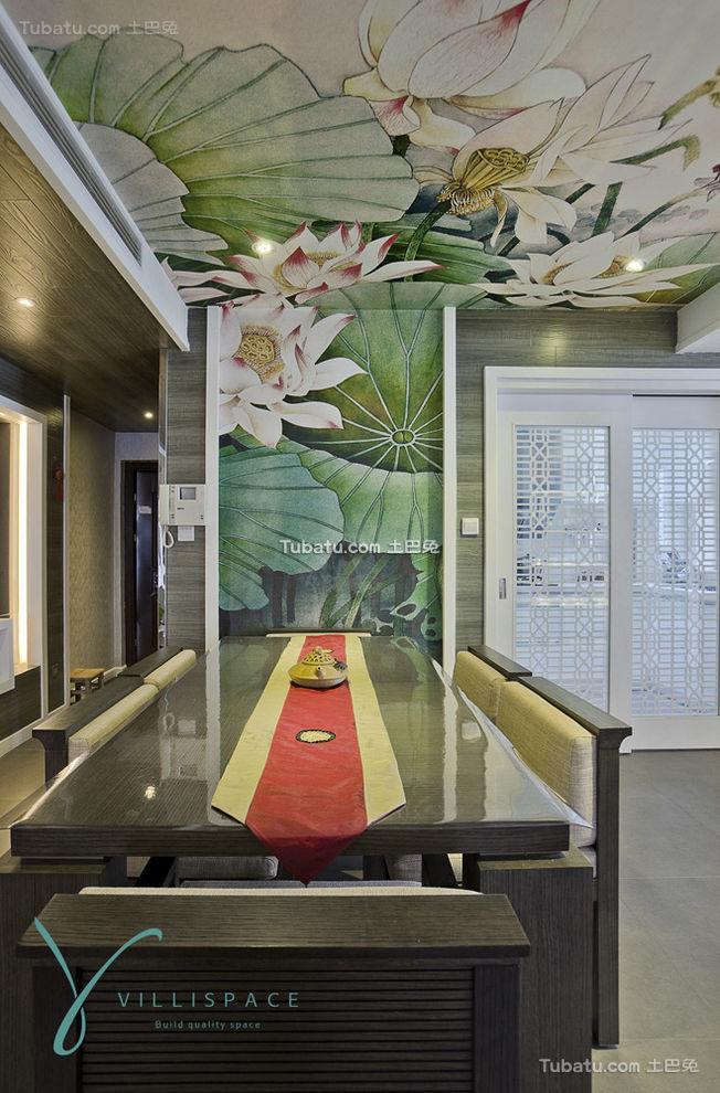 中式混搭餐厅设计
