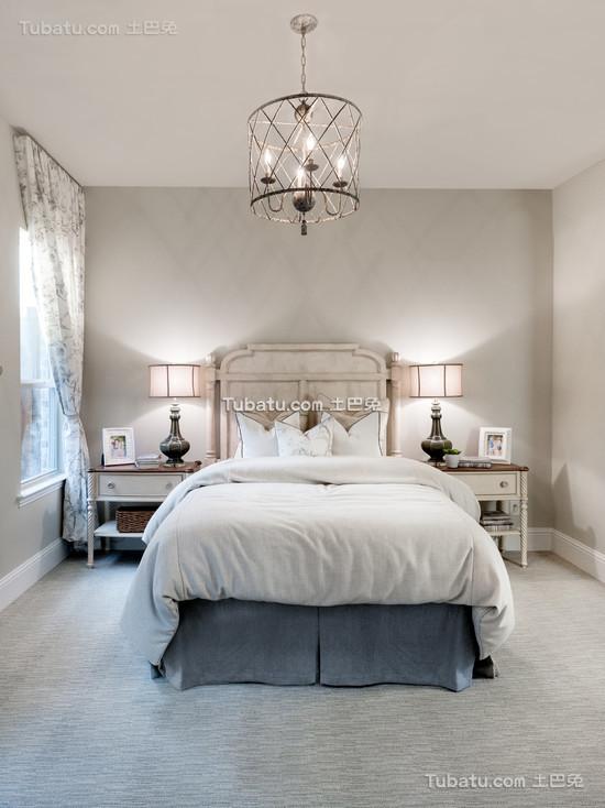 装修时尚北欧卧室图片