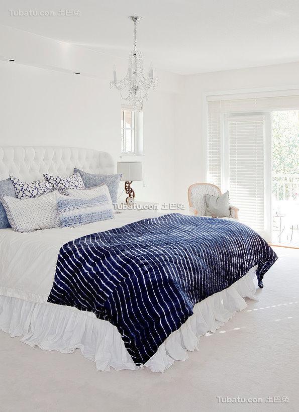 北欧设计时尚卧室欣赏