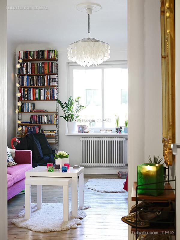 浪漫北欧风格三居室设计