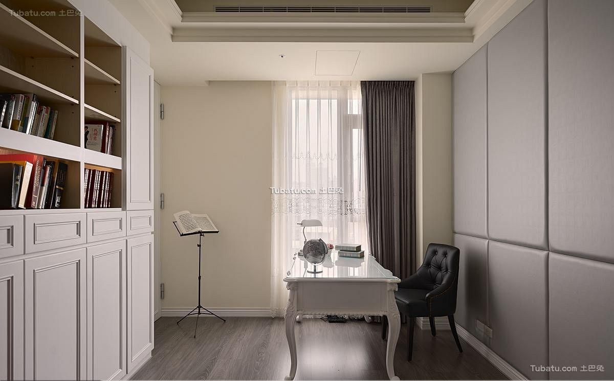 家装设计书房效果图