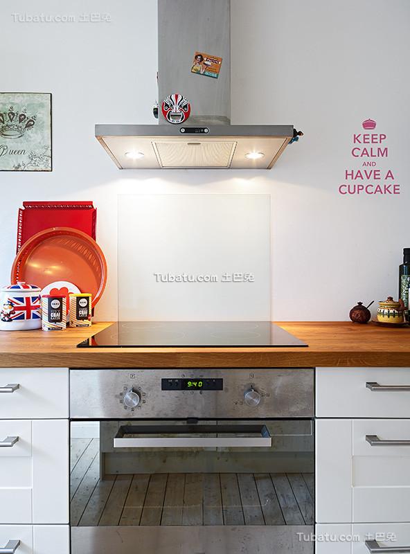 浪漫北欧风格厨房设计