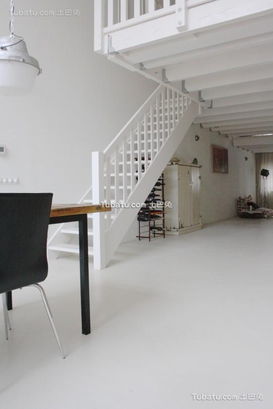 全开放式家居装修楼梯设计