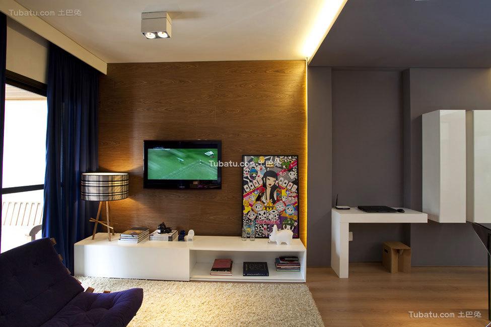 色彩搭配丰富的精致公寓设计