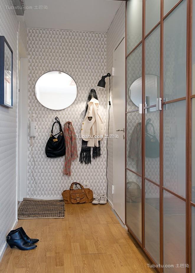 舒适简约白色公寓设计
