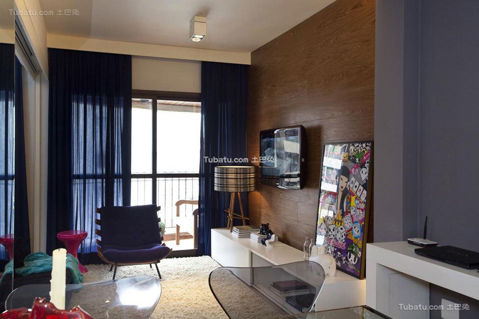 色彩搭配丰富的混搭精致公寓