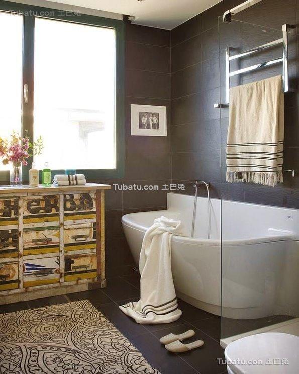 装修设计卫生间浴池大全2015