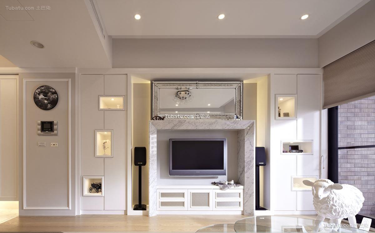 室内装饰电视墙