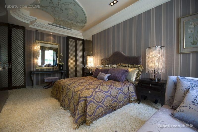 低调豪华新古典风格卧室