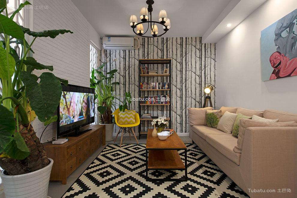 时尚温馨宜家二居室设计