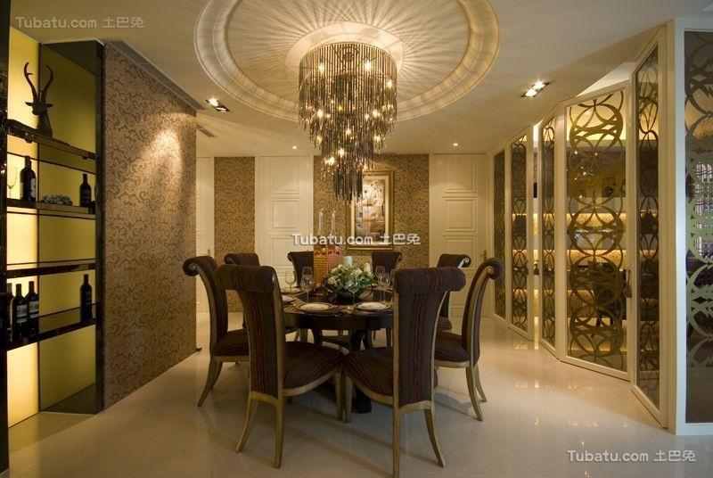 低调奢华新古典餐厅设计