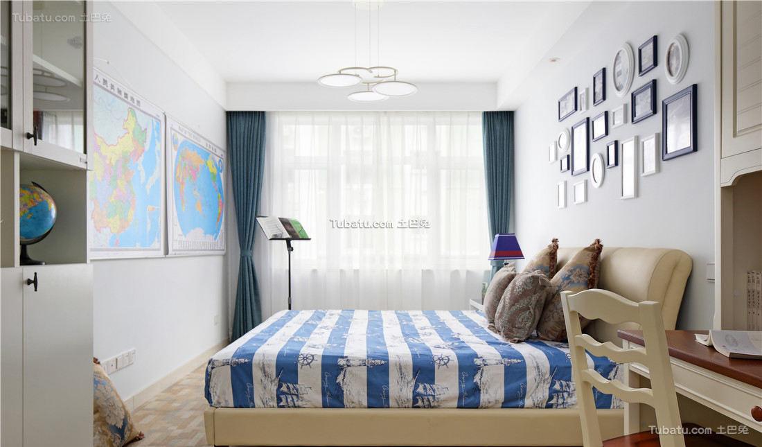简约室内儿童房间设计装修效果图