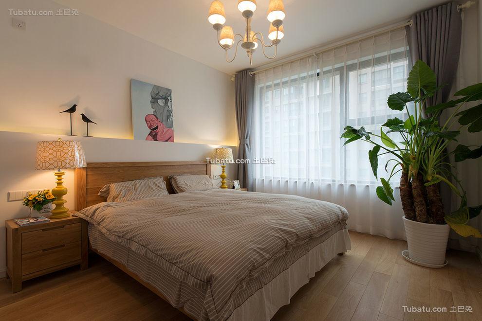 宜家风格自然卧室设计大全