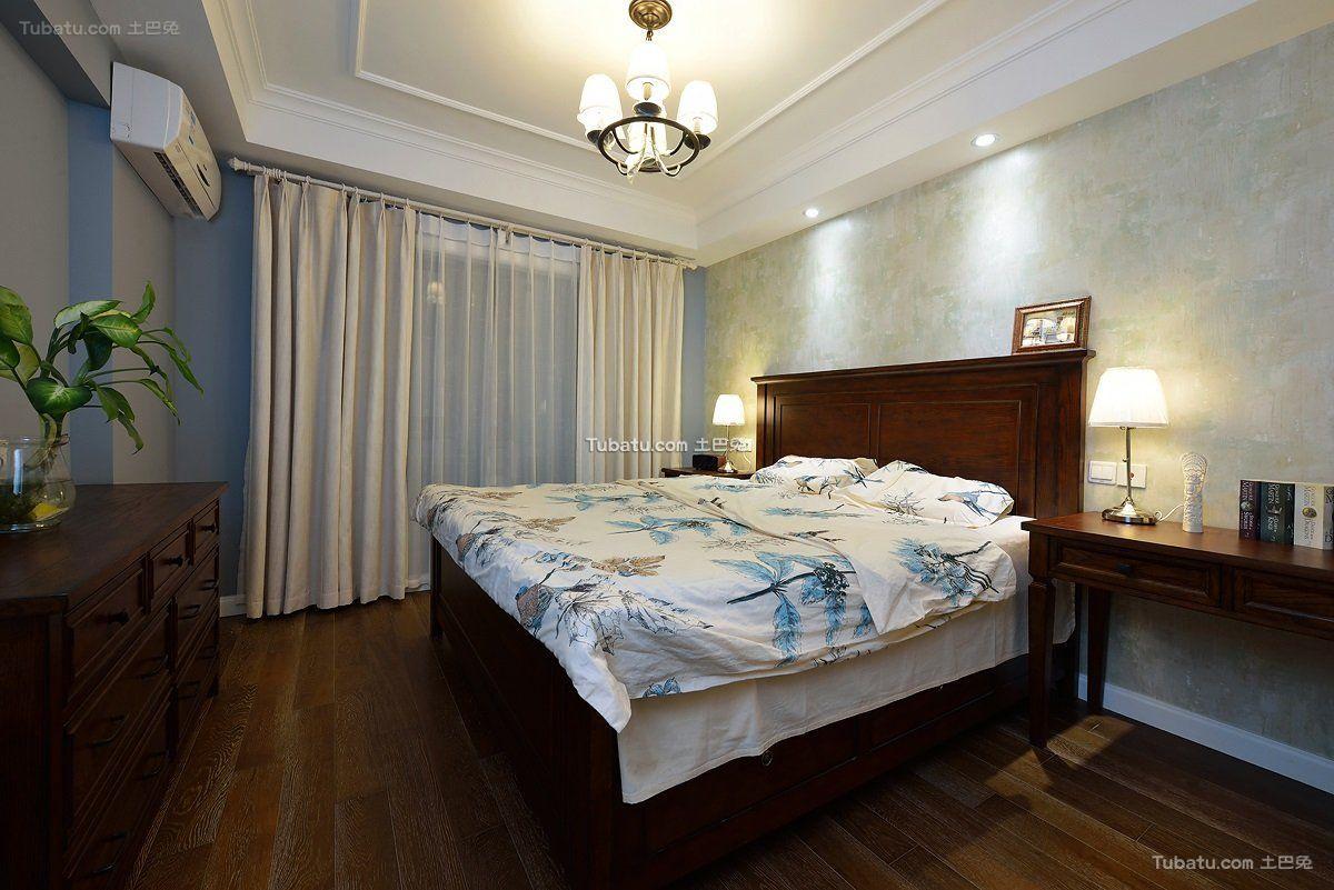 休闲美式卧室设计装修大全