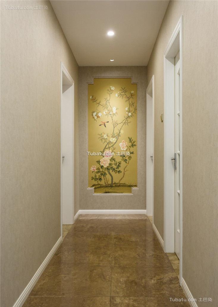 典雅美式过道室内装饰效果图