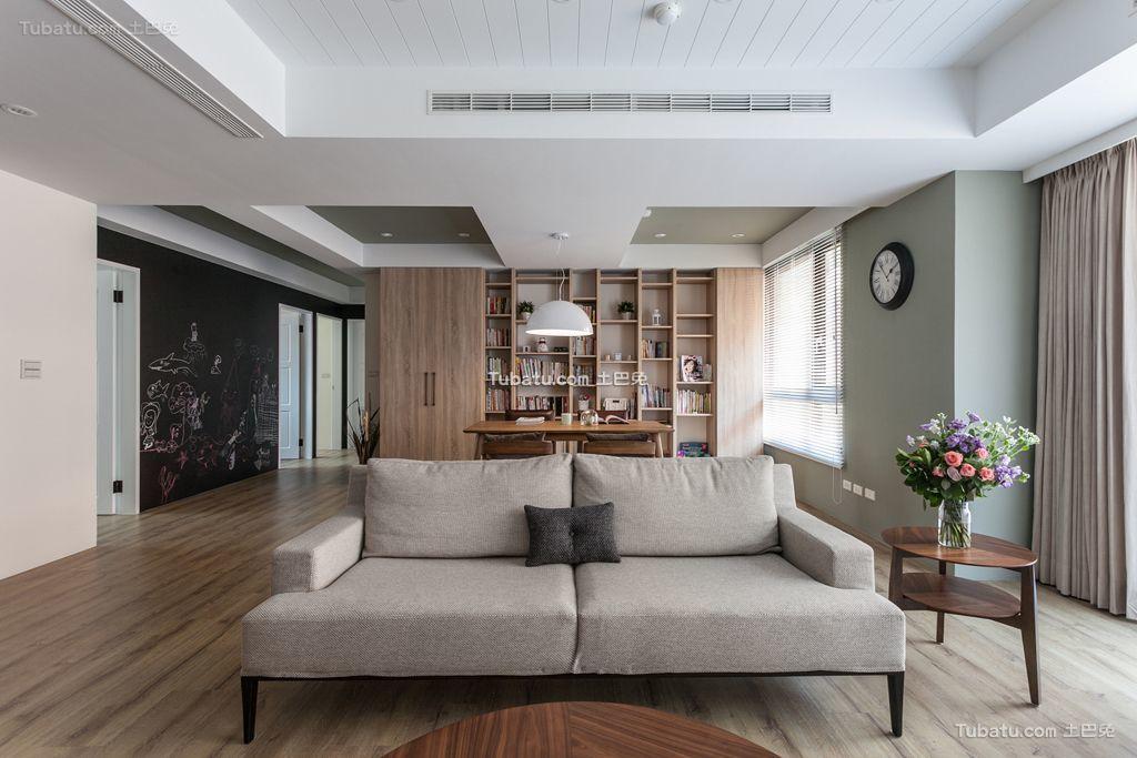 宜家风格公寓设计装饰效果图