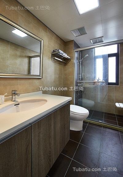 现代卫生间设计装潢效果图
