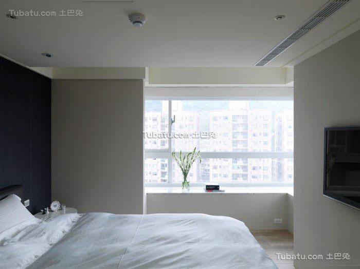 温馨中性色系卧室设计