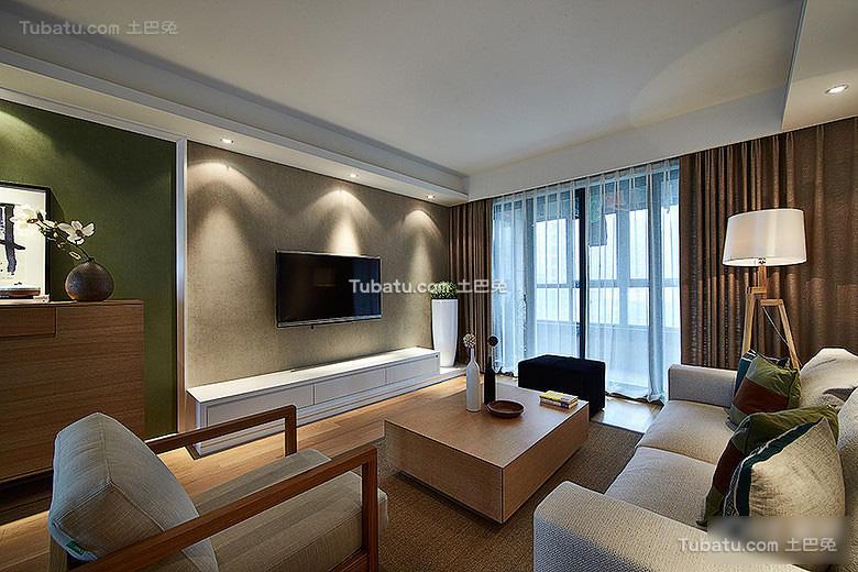 自然宜家风格客厅设计大全
