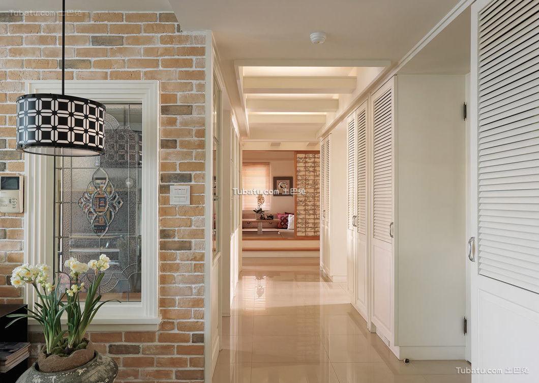 现代简约过道室内家装效果图片