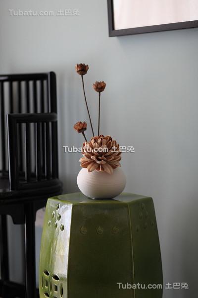 中式现代室内装饰品效果图片