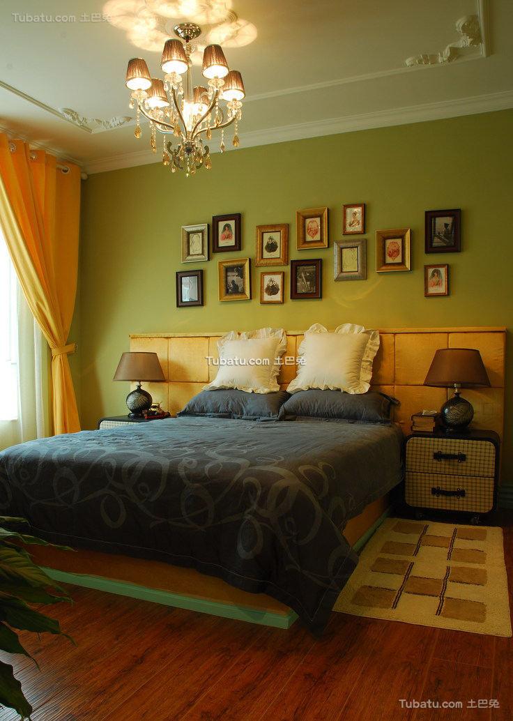 北美风格别墅卧室室内效果图片