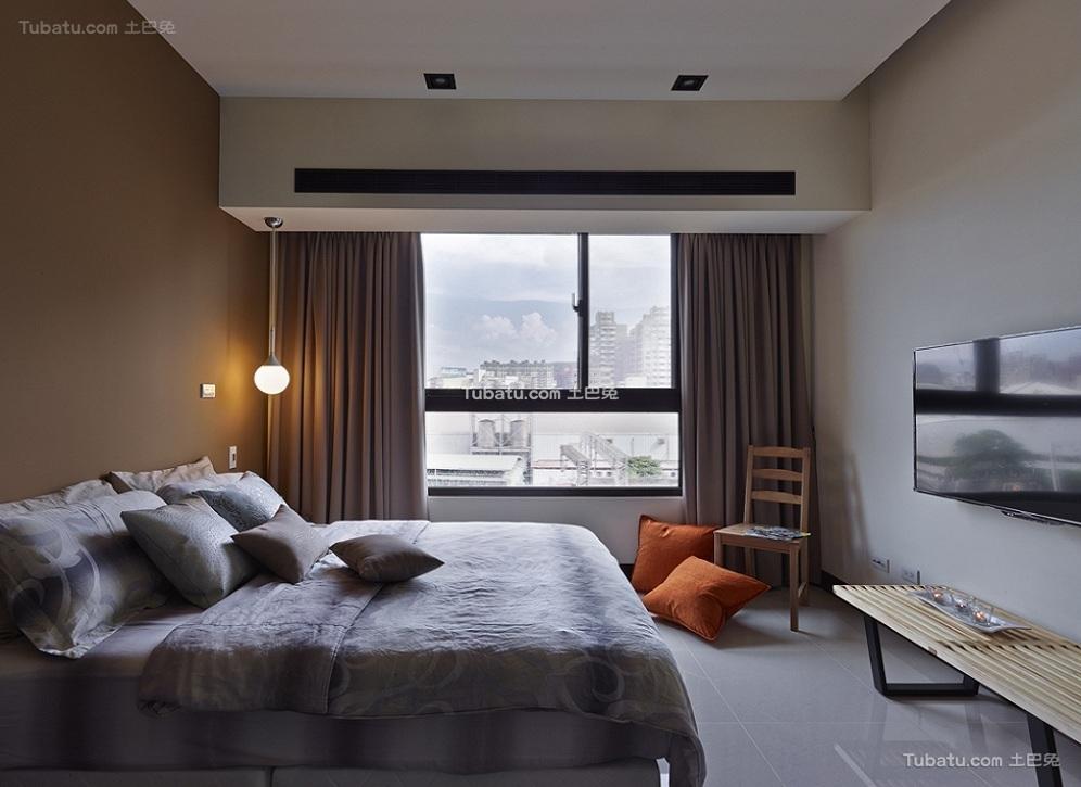 卧室简约设计图片