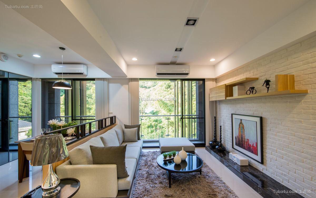 宜家风格设计两居室装修图片