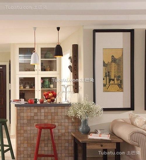 地中海风情三居室设计