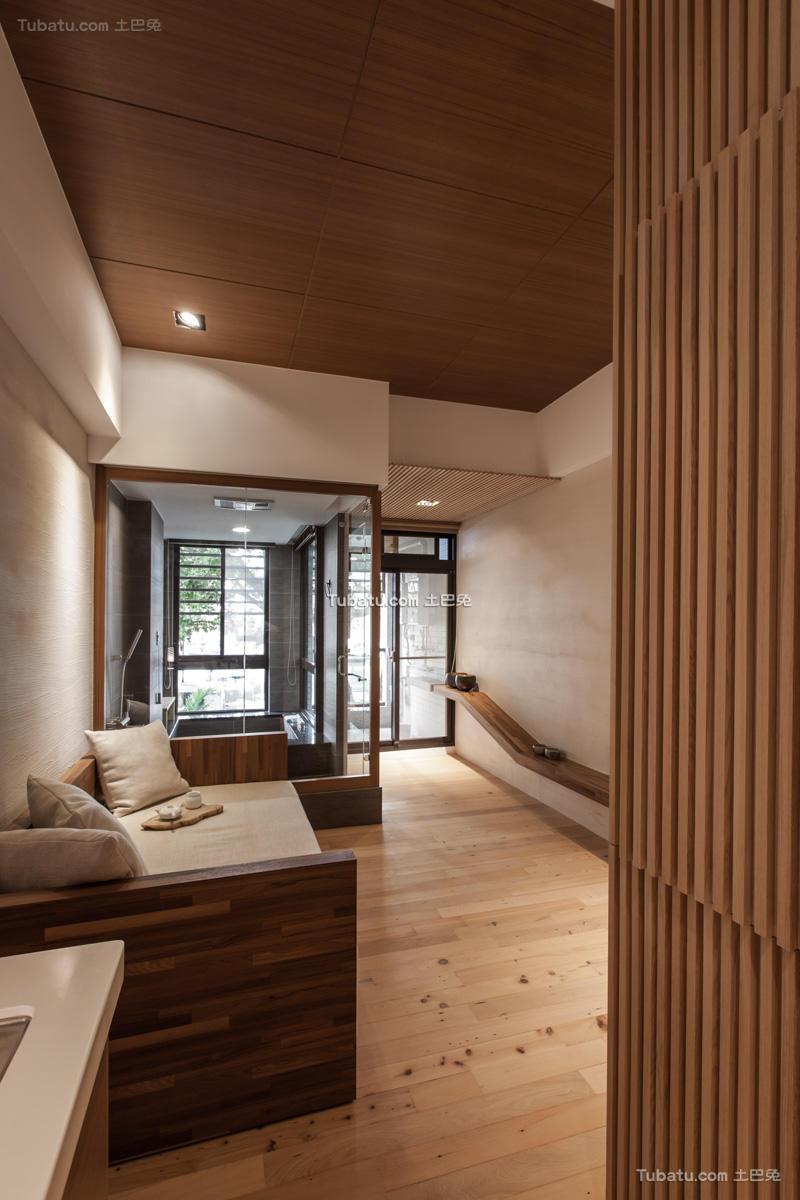 简约日式客厅装潢
